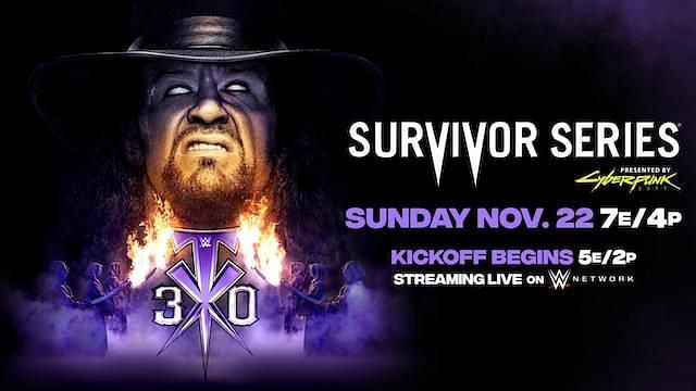 The Undertaker will make his final appearance at Survivor Series
