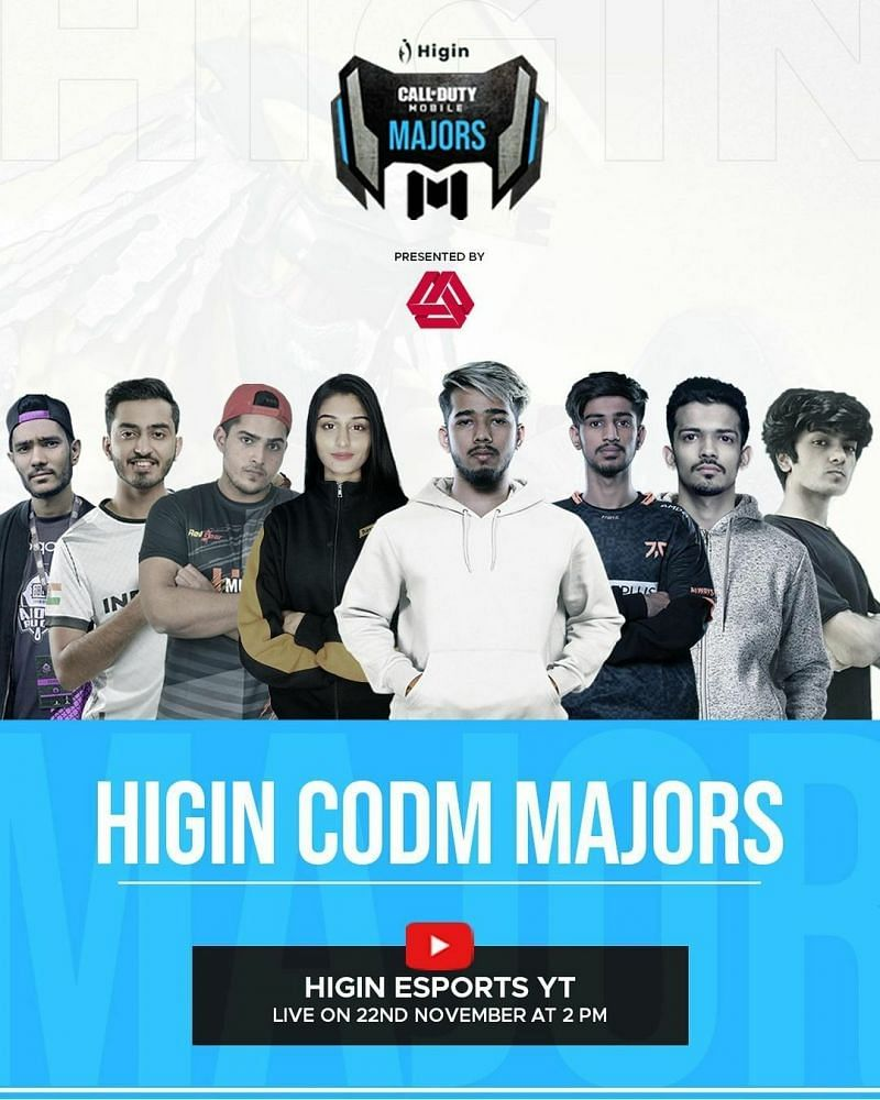 The Higin COD Mobile Majors poster