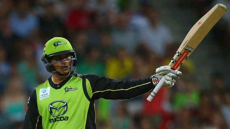 Usman Khawaja is clearly not impressed by the new set of rules in the BBL [sydneythunder.com.au]