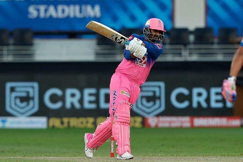 Rahul Tewatia was pretty in pink. Pic Courtesy: IPLT20.com