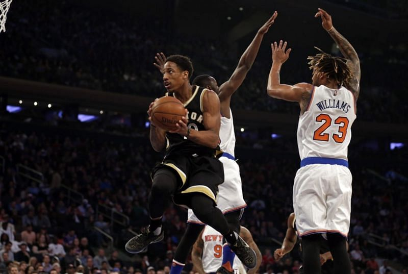 DeMar DeRozan vs New York Knicks