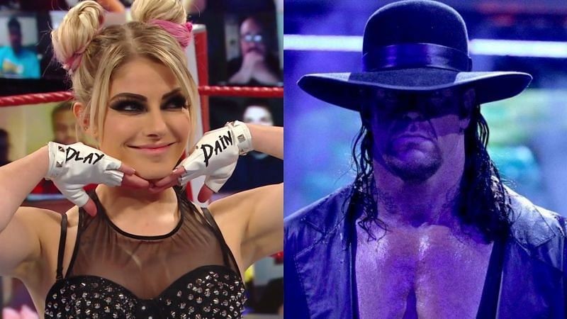 Alexa Bliss and The Undertaker