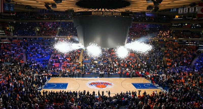 New York Knicks Home Court: Madison Square Garden