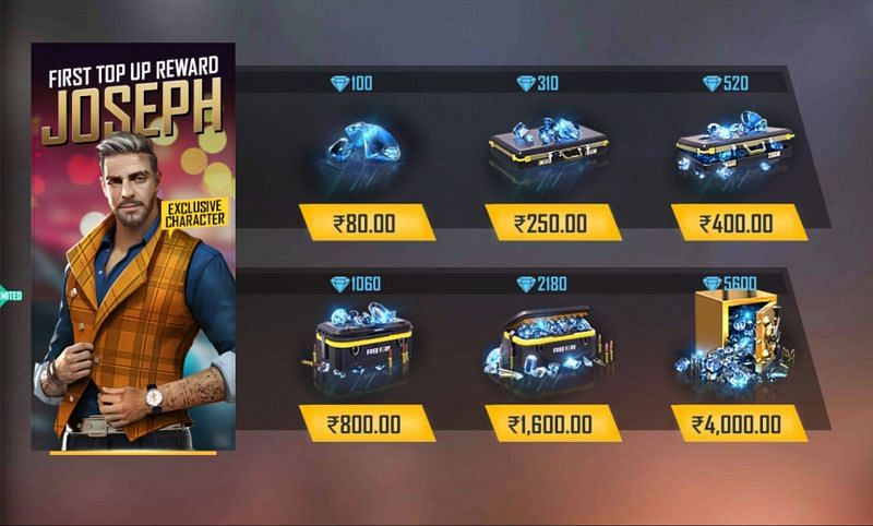 How To Top Up Free Fire Diamonds In November 2020 Step By Step Guide For Beginners