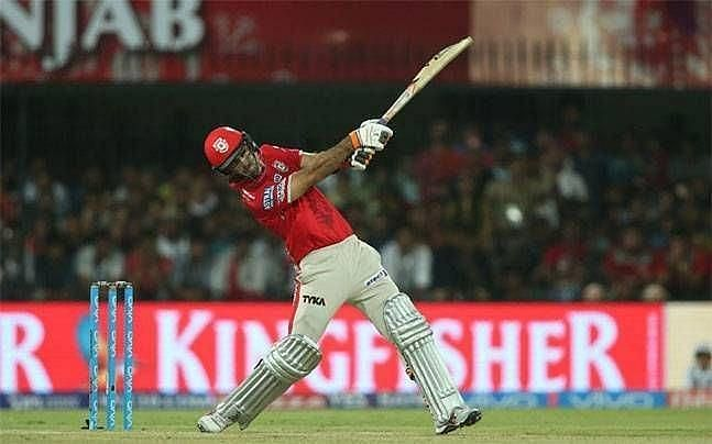 Glenn Maxwell was a complete disaster for KXIP.
