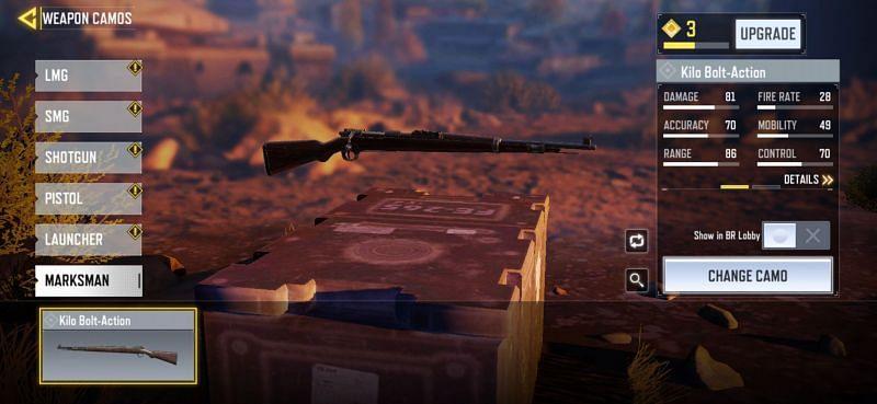 Marksman Rifle (COD Mobile)