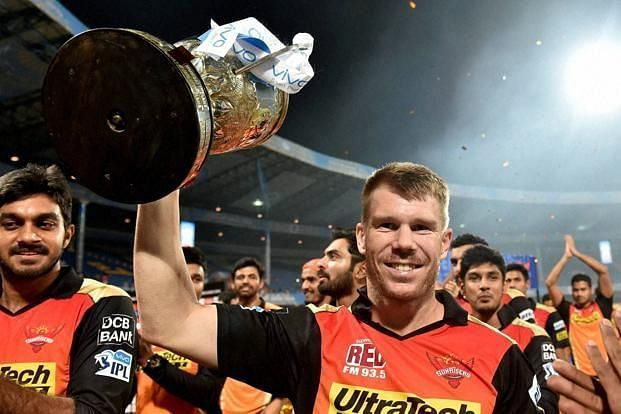 David Warner inspired SRH to an 8-run win against RCB in the IPL 2016 final