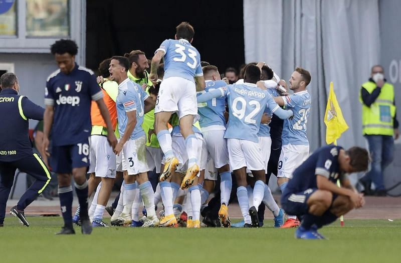 Lazio secured a late draw against Juventus, their first against the Bianconeri in six years.