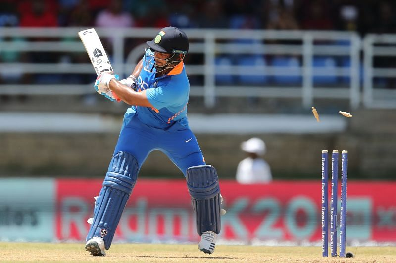 Rishabh Pant has missed out on both limited-overs squads