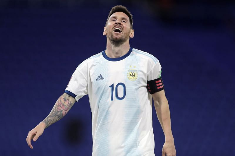 Messi is yet to win a trophy with Argentina.