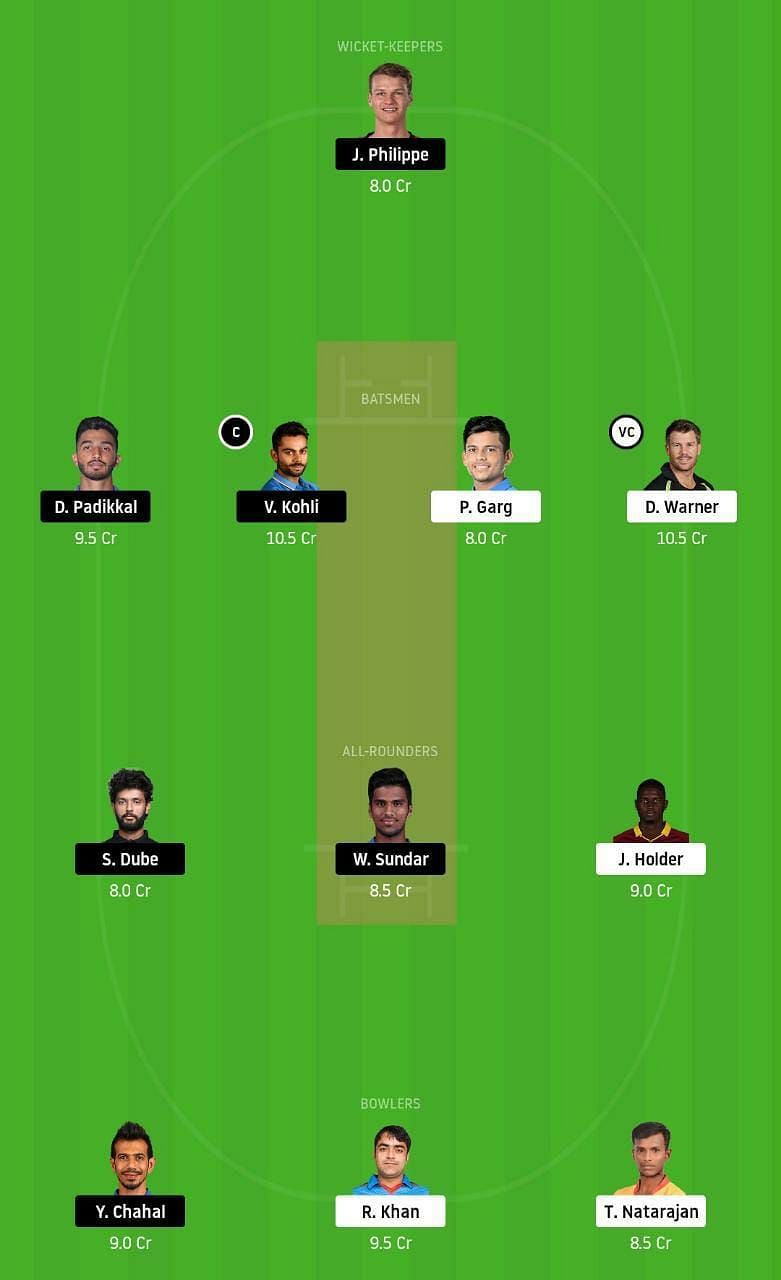 SRH vs RCB IPL Dream11 Tips