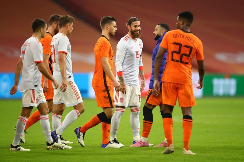 Spain and the Netherlands played out a draw