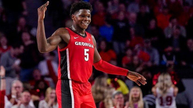The freshman from Georgia: Anthony Edwards