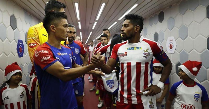 ISL fixture between Bengaluru FC and ATK