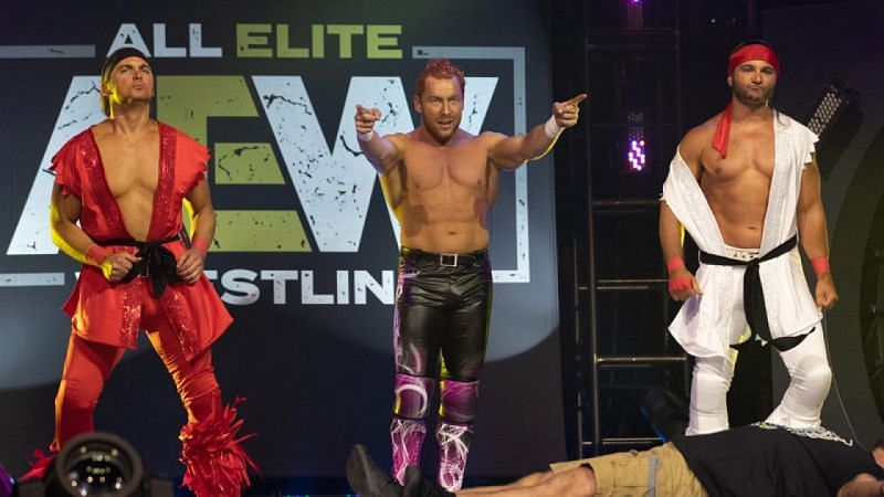 Kenny Omega and The Young Bucks- The Elite