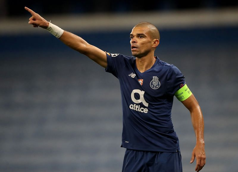 Veteran defender Pepe is a doubt for Porto