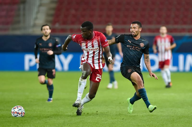 Olympiacos FC vs Manchester City: Group C - UEFA Champions League