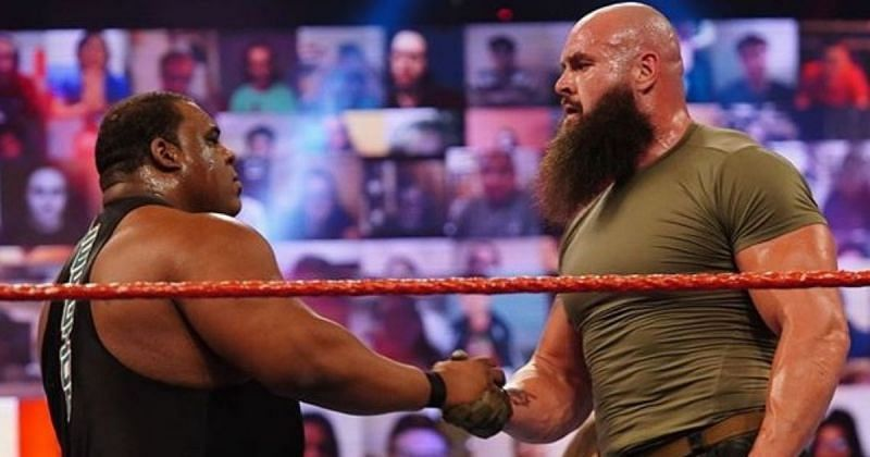 Braun Strowman and Keith Lee.