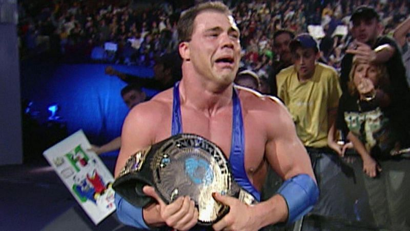 Kurt Angle stood out from the rest of the WWE locker room