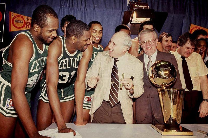 Red Auerbach is synonymous with winning.