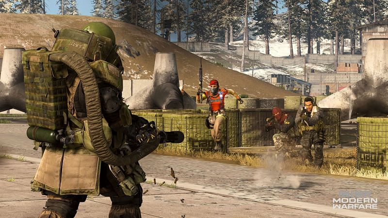 The Juggernaut killstreak in COD: Warzone provides players with more HP and armor to tear through opponents (Image Credit: Activision)