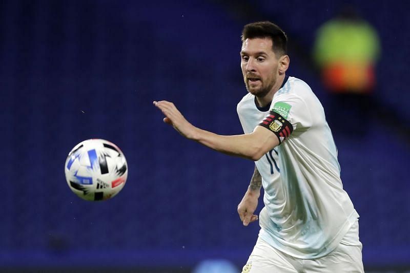 Argentina skipper and top-scorer Leo Messi