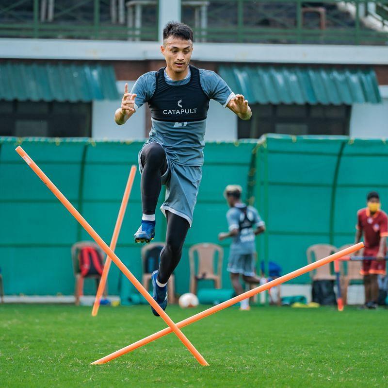 FC Goa in training
