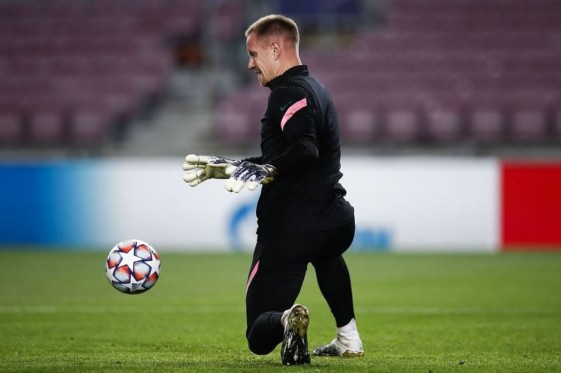 Marc-Andre ter Stegen is back in goal for Barcelona.
