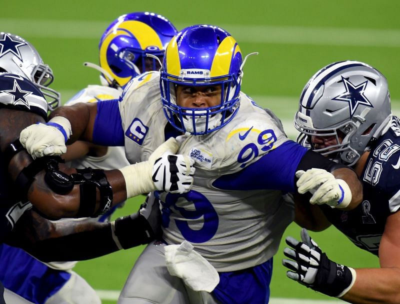 Aaron Donald has been a force for the Los Angeles Rams since being drafted