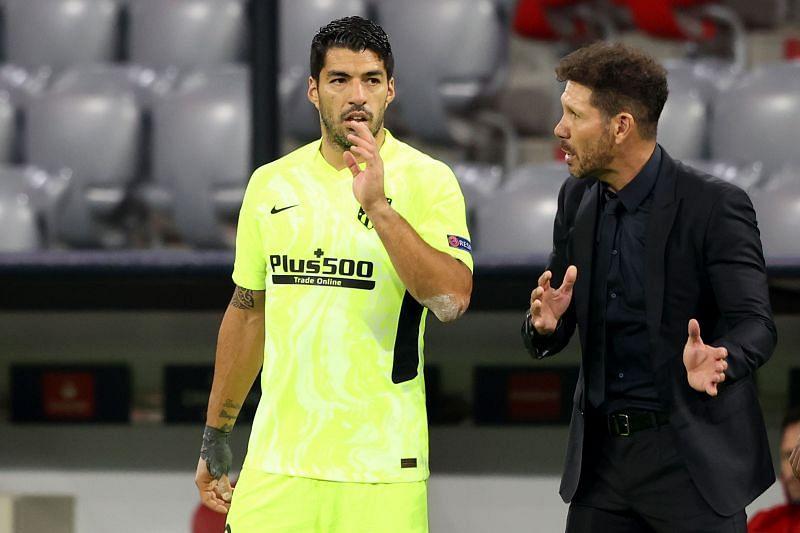 Luis Suarez is unavailable for Atletico Madrid