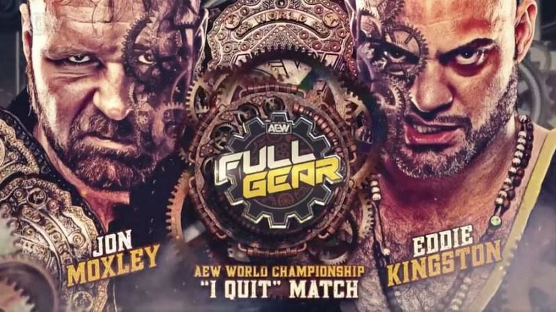 """It was a brutal """"I Quit"""" match at Full Gear between AEW Champion Jon Moxley and Eddie Kingston"""