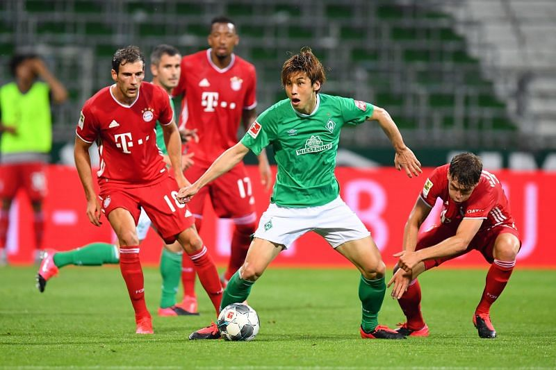 Bayern have won more consecutive games against Bremen than any other side, with 22 wins on the trot