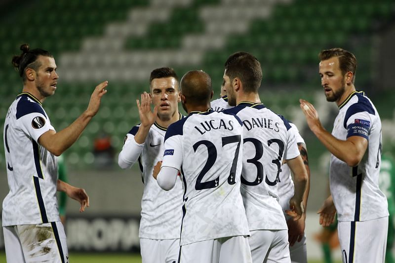 Ludogorets Tottenham Hotspur Talking Points From A Comfortable Win For Spurs Europa League
