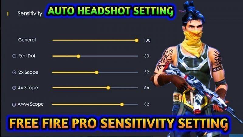 Best Free Fire sensitivity settings