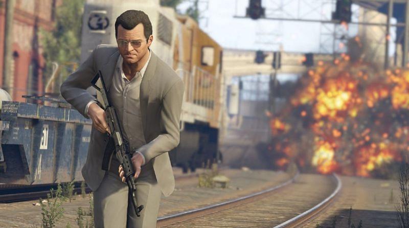 GTA 5 on PCs (Image via Rockstar)