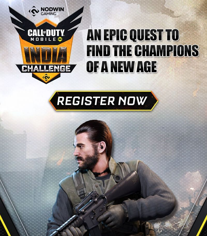 Call of duty Mobile India challenge