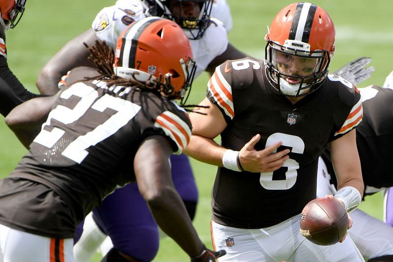 Cleveland Browns QB Baker Mayfield (#6)