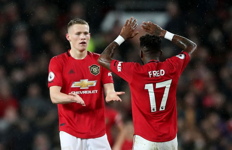 Ole Gunnar Solskjaer has shown faith in the midfield pair of Fred and Scott McTominay.