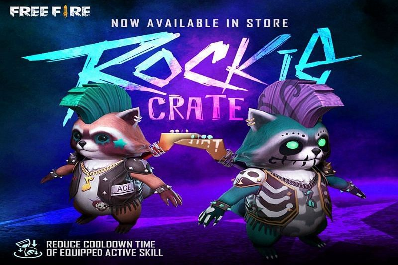 Rockie is the latest addition to the list of pets in Garena Free Fire (Image via Garena Free Fire / Facebook)
