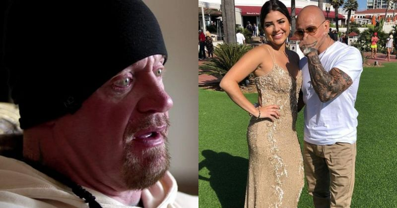 Undertaker, Aalyah, and Rey Mysterio.