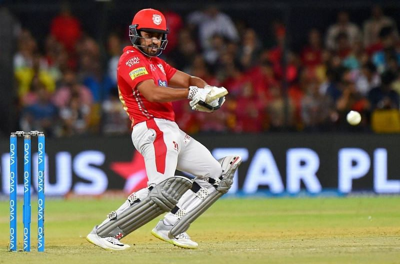 Karun Nair could only score 16 runs from 4 games in the IPL 2020 season