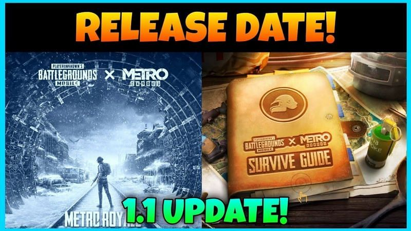 The much-awaited Metro Royale mode will finally be making its way into the game with the latest update (Image via TechyAkash Gaming / YouTube)