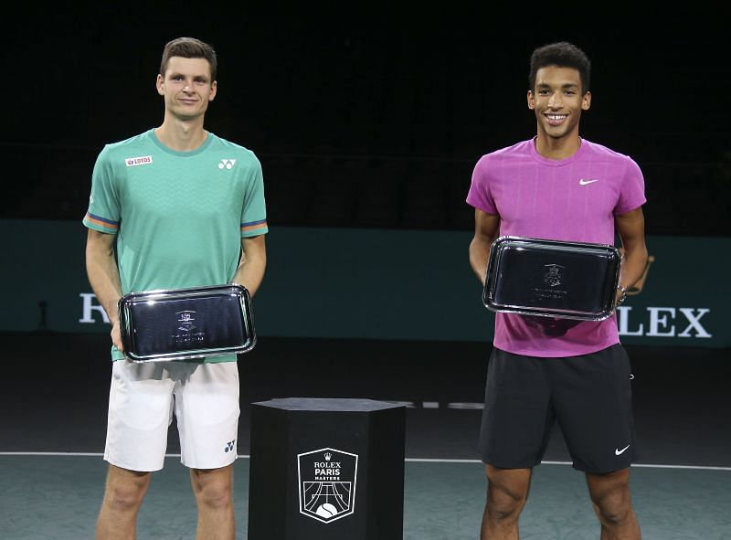 Felix Auger-Aliassime comes into Sofia on the back of a doubles title win in Paris