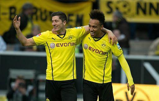 Robert Lewandowski and Pierre-Emerick Aubameyang are a few of the world-class talents sold off by Borussia Dortmund
