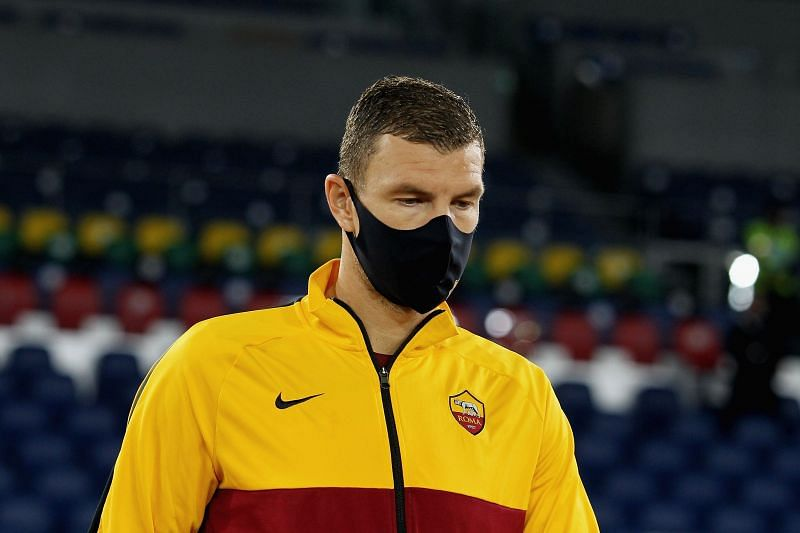 AS Roma striker Edin Dzeko