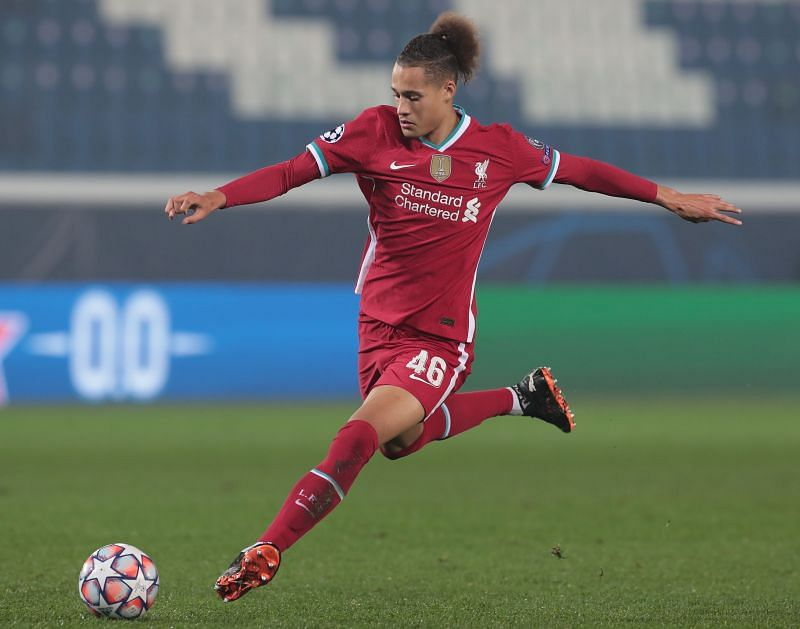 Rhys Williams has featured in each of Liverpool