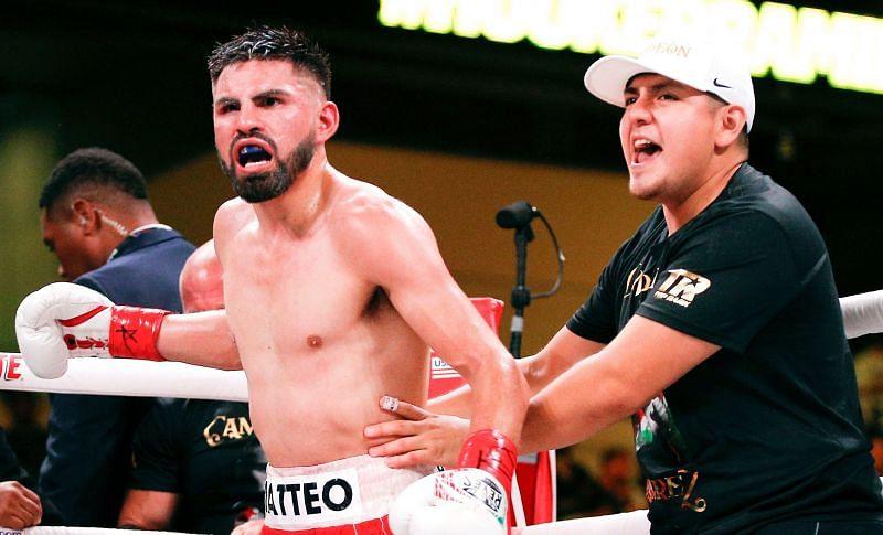 Alex Perez once trained boxing with WBO and WBC champ Jose Ramirez.