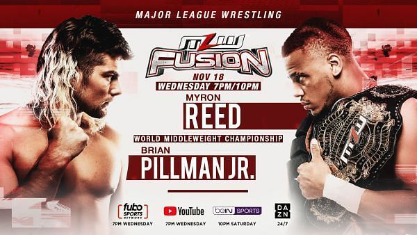 Myron Reed vs Brian Pillman Jr