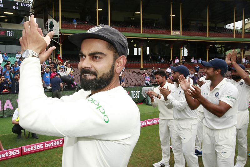 Virat Kohli after the 4th Test in Sydney ended in a draw