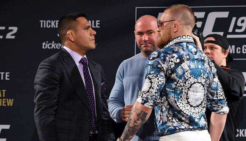 Rafael dos Anjos and Conor McGregor are no strangers to one another